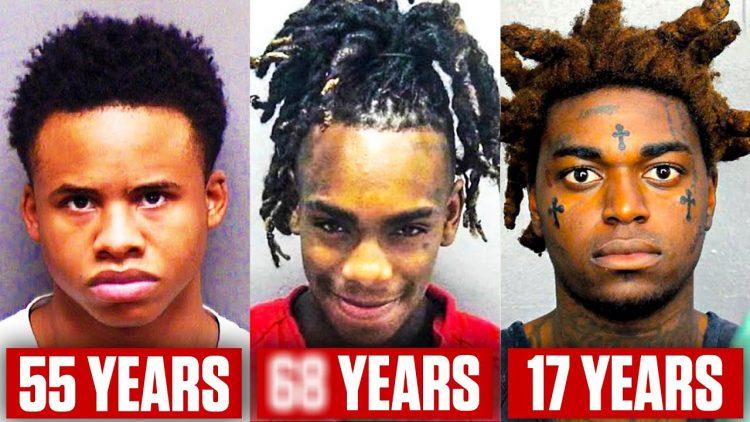 Rappers With LONGEST Prison Sentences (Tay-K, 21 Savage, Kodak Black)